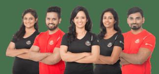 healthifyme coaches. Ready to help you
